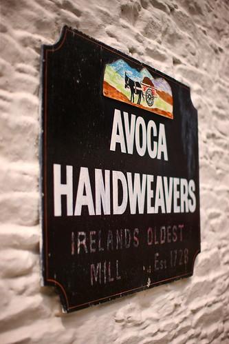 Original Sign at Avoca Mill by Avoca Ireland