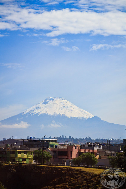 View Of Cotopaxi From Bus