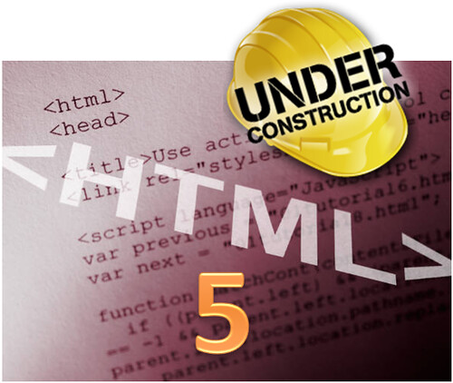 HTML5 construction
