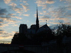 Notre Dame Cathedral (rocks-your-socks) Tags: paris france silhouette seine cathedral notredame notre dame