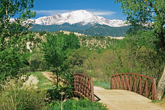 Pike's Peak: Rock Ledge Ranch: Colorado Springs, Colorado (CO) (Floyd Muad'Dib) Tags: ranch county bridge trees plants usa mountain plant mountains tree america geotagged us colorado unitedstates united north bridges gardenofthegods peak el historic springs paso elpaso coloradosprings co vegetation northamerica pikes states peaks pike pikespeak americanwest historicsite historicsites rockledge rockledgeranch ranches westernusa coloradospringsco elpasocounty pikespike pikespeakcolorado coloradospringsbridge
