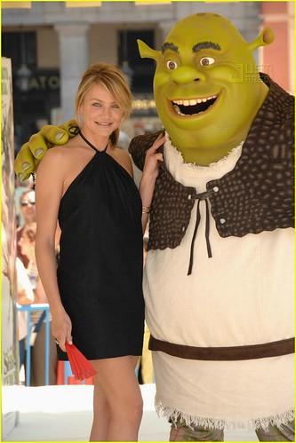 Cameron Diaz sexy Shrek