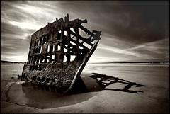 lonesome ship (jody9) Tags: sepia bravo shipwreck oregoncoast peteriredale fortstevensstatepark supershot magicdonkey youvegottheeye utata:project=upfaves
