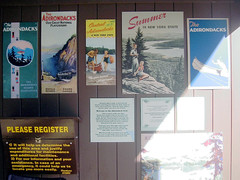 Old Posters at the Adirondack Museum