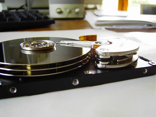 Open Harddisc