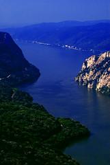 Beautiful Danube 2 (Miodrag mitja Bogdanovic) Tags: park blue green nature water river landscape europe small serbia canyon east national gorge mali gorges danube kazan donau srbija mitja dunav miodrag specland bogdanovic djerdap djerdapska klisura worldthroughlens worldthroughlenscom beautifuldanube