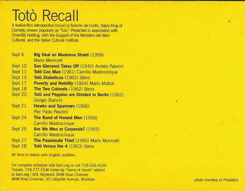 Toto Recall