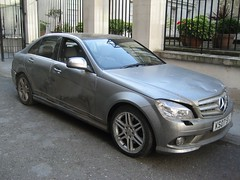 New Mercedes C Class - W204