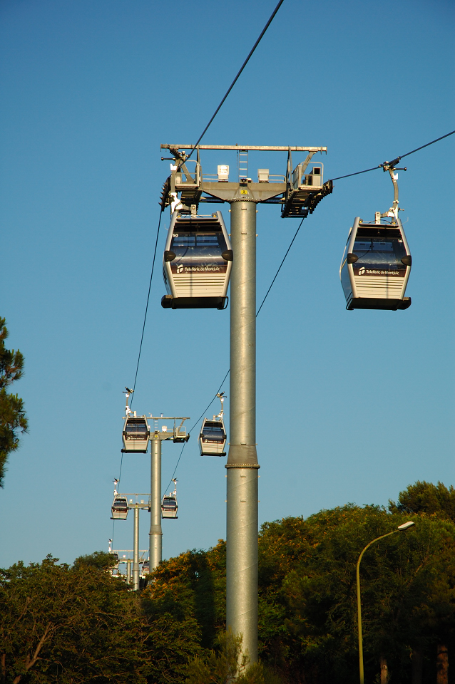 Cable Car at Montjuic [enlarge]