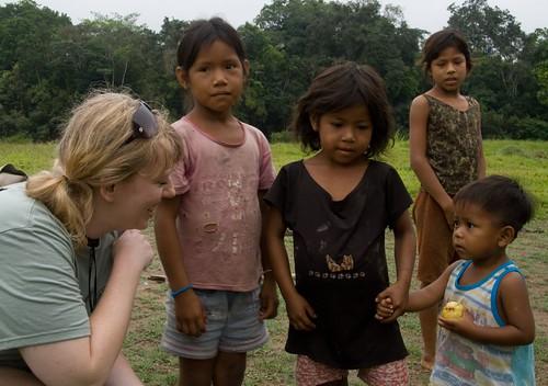 Village Children and me