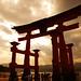 厳島神社:Miyajima Otorii II