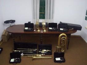 Nuevos Instrumentos de la Banda Municipal de Las Perdices