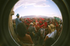 red wedding (jesse.cheese) Tags: wedding red art playa burningman goodtimes ohmygawd thatwasgood bm07