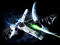 Mmm... spacy goodness (olo) Tags: photoshop toys lego space explore moc starfighter fbtb sandshark foitsop