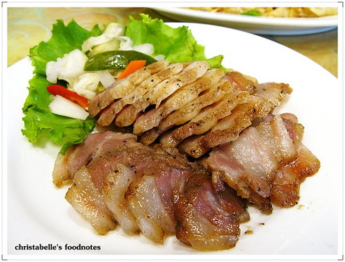 美濃粄條客家鹹豬肉