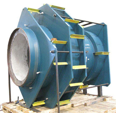 Inline Pressure Balanced Expansion Joints with Refractory Lining