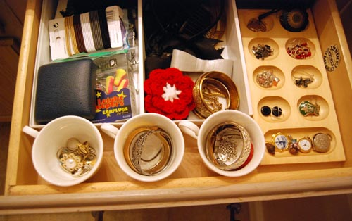 Jewelery Storage Drawer