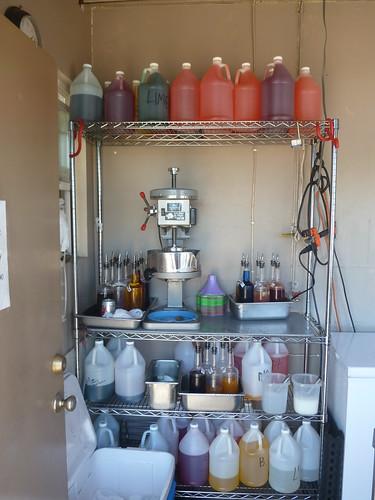 Shave Ice setup