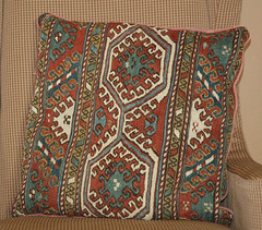 Autumn decor-kilim pillow (kizilod2) Tags: autumn fall rust teal pillow decorating decor kilim