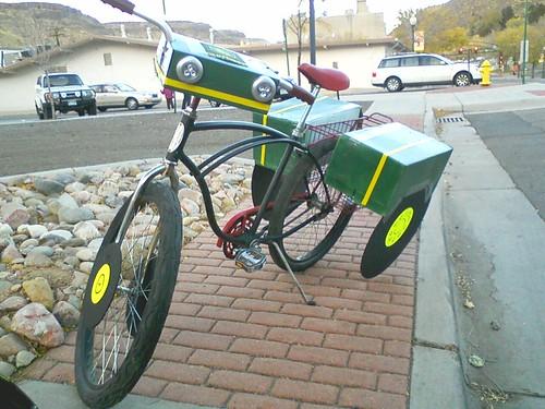 John Deere Tractor Bike