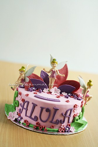 Tinkerbell Cakes - Lusy