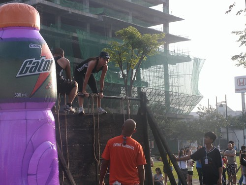 Men's Health Urbanathlon: Cat Up a Tree