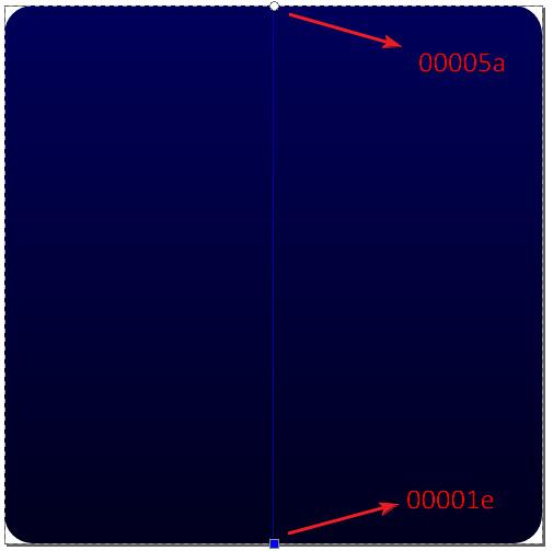 1. blue gradient rectangle