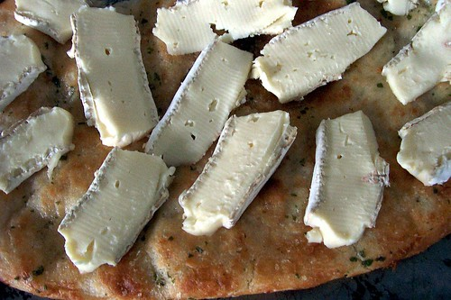 pre-melty brie