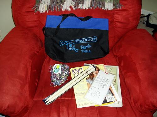 S 'n P gift bag