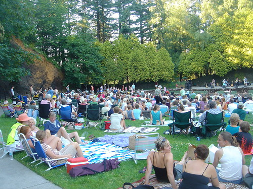 Portland Concerts in the Park - Mt Tabor
