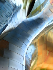 Gehry's surface (etylee) Tags: usa architecture geotagged photography smithsonian photo photocontest emp frankgehry seattlecenter outstandingshots platinumphoto anawesomeshot smithsonianchannel aerialamerica