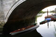 Sitting on the dock (skander ben mansour) Tags: london river boats thecity richmond gherkin sbm loyds liverpooltubestation