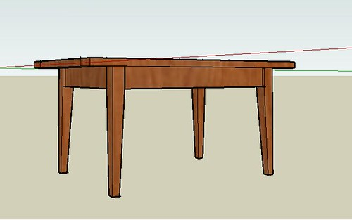 Outdoor Quot Coffee Quot Table 4 Sketchup Til Now By Dorje