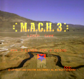 M.A.C.H. 3 - Title Screen