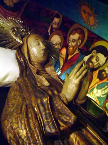 La Virgen muerta