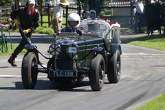 Quick Fraser Nash with a Riley behind (66Alpine) Tags: car racing prescott hillclimb vscc freasernash