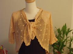 Flower Crochet Bolero