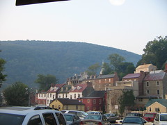 View of Harpers Ferry from the Train Station