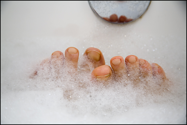 what my feet did on Wednesday