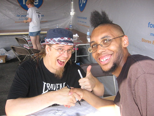 Me and Devin Townsend