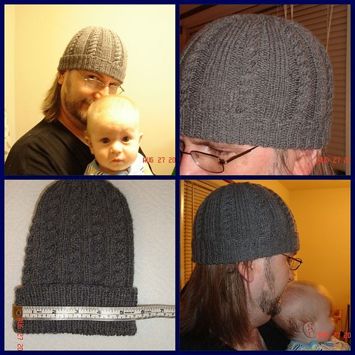 cable hat mosaic
