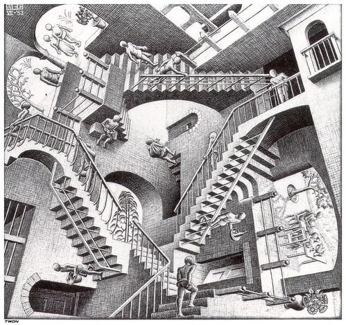 M.C. Escher_Relativity