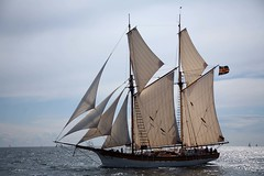 Albanus (Bruno Girin) Tags: race flag baltic schooner tallships aaland albanus tallshipsracesbaltic2007
