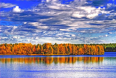 autumn blues (Henri Bonell) Tags: autumn clouds forest reflections finland river colorful themoulinrouge supershot outstandingshots abigfave anawesomeshot aplusphoto henribonell superbmasterpiece goldenphotographer diamondclassphotographer superhearts ysplix amazingamateur excapture proudshopper theperfectphotographer thegoldendreams