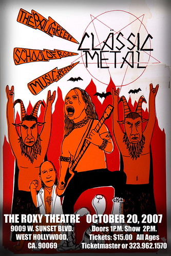 Paul Green School of Rock Music Presents The Classic Metal Show