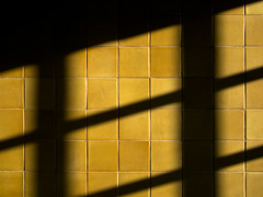 morning (xgray) Tags: morning light shadow sun color lines wall contrast digital austin tile texas olympus diagonal tiles ep1 200mmf17