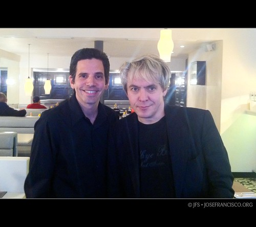 JF & Nick Rhodes of Duran Duran