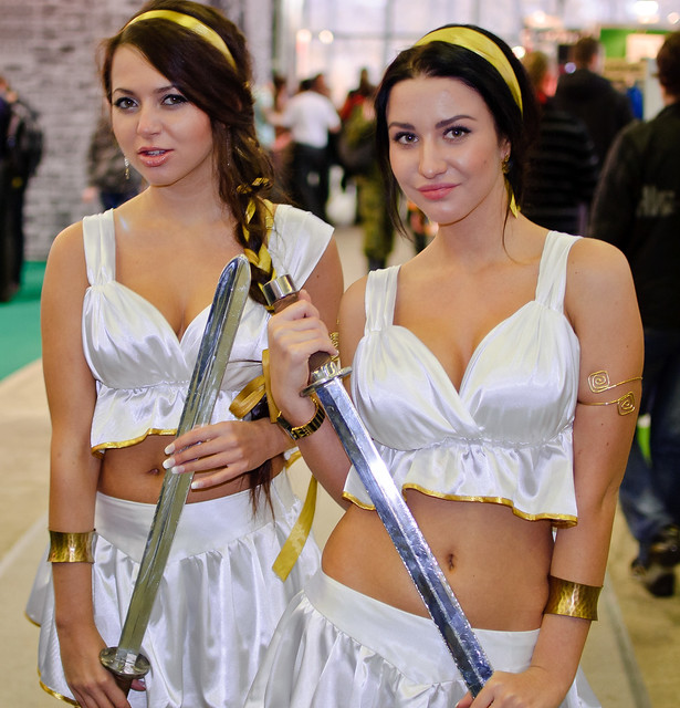 Girls of Igromir 2010