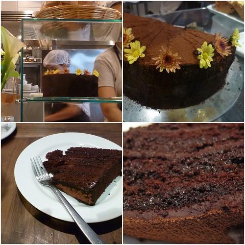 O melhor bolo de chocolate!