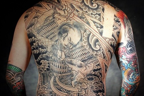 samurai Tattoo by New Skool